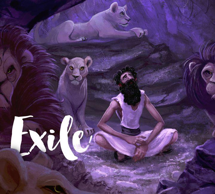 Series artwork - People of God / Exile
