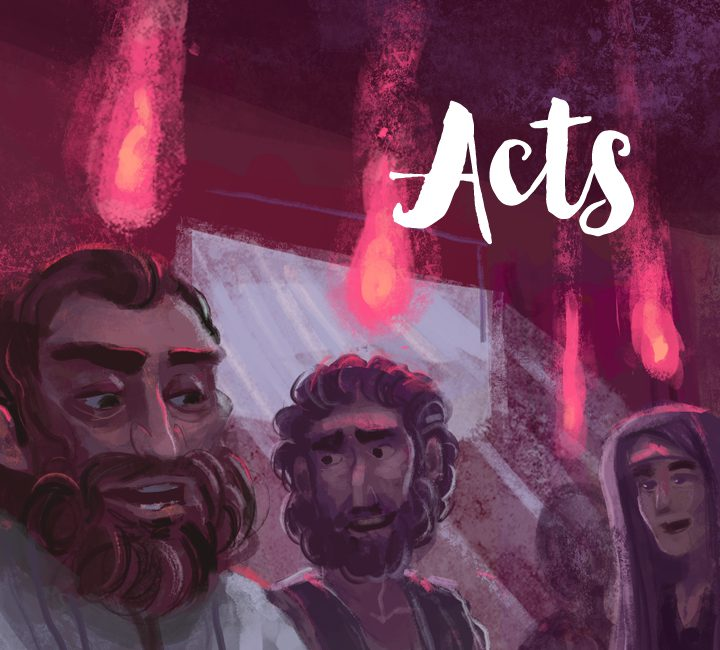 Series artwork - People of God / Acts